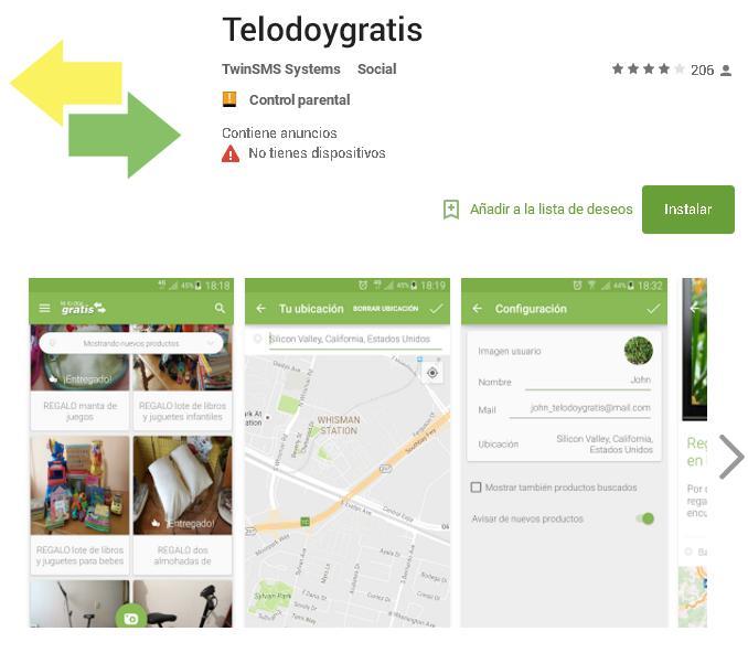 consigue regalos y cosas gratis con la app de telodoygratis
