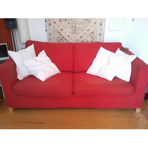 Regalo sofa cama ikea for Sofa cama de dos plazas ikea