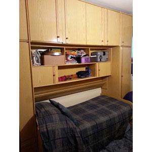 Regalo mueble modular con cama individual y cama nido - Mueble cama nido ...