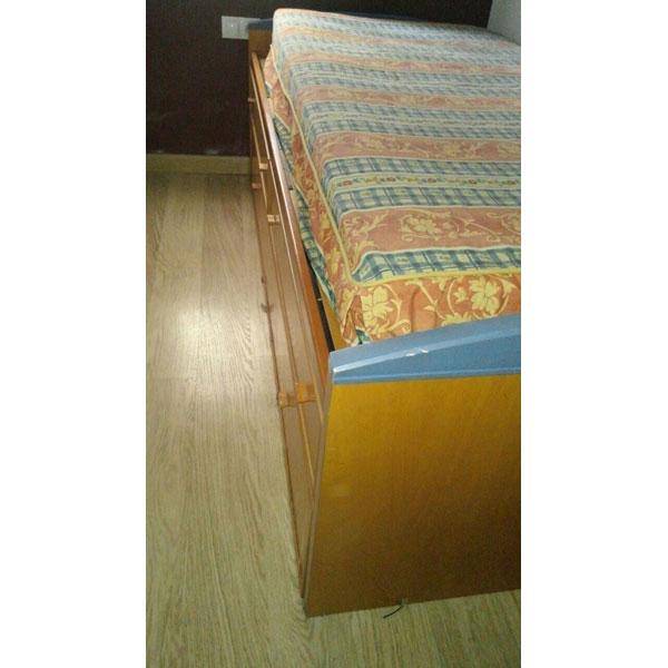 Regalo cama nido con cajones for Cama nido alta con cajones
