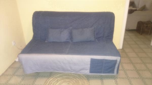 regalo sof cama 2 plazas ikea como nuevo y con funda