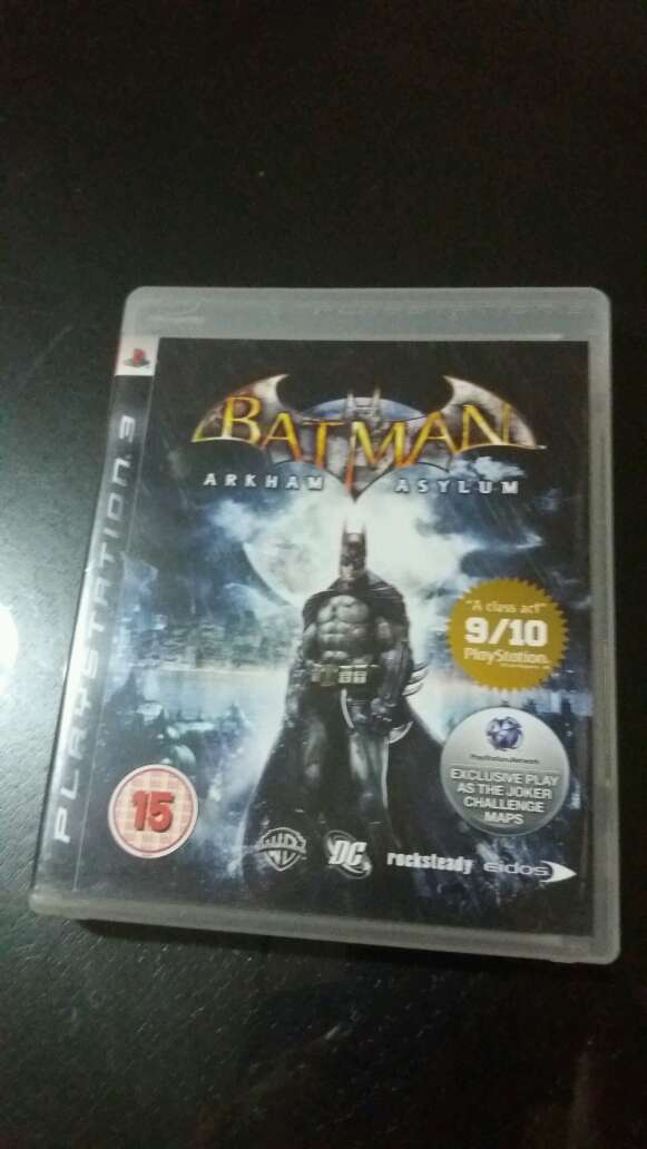 REGALO Arkham Asylum PS3