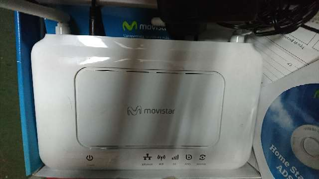 REGALO Home station adsl Movistar. Router