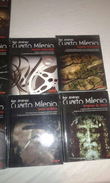 REGALO fasciculos dvd Cuarto Milenio