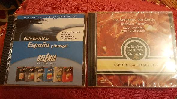 REGALO Dvd / CD- ROM