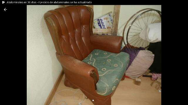 REGALO Sillon mecedora