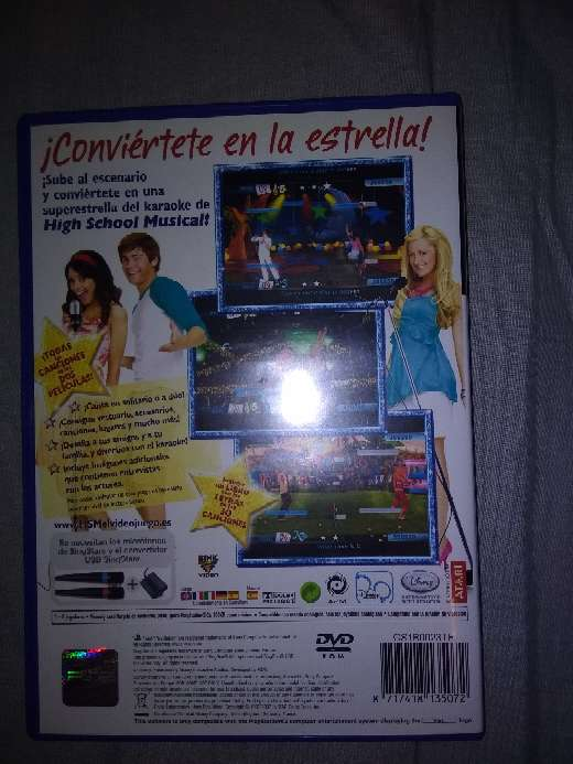 REGALO Singstar hsm ps2 3