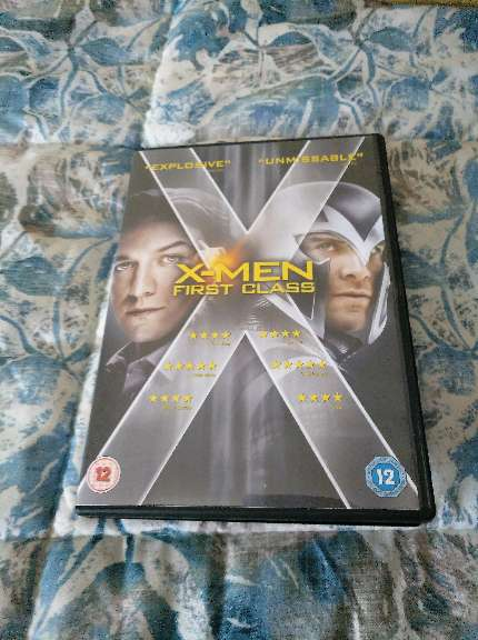 REGALO DVD x men primera generacion