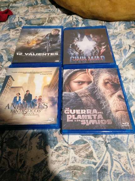 REGALO Blurays