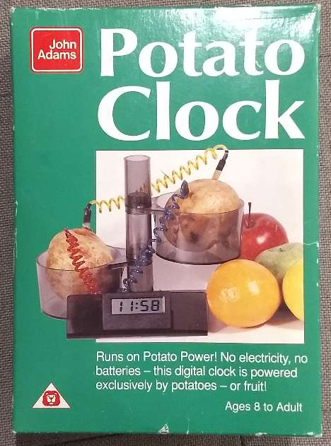 REGALO Potato Clock