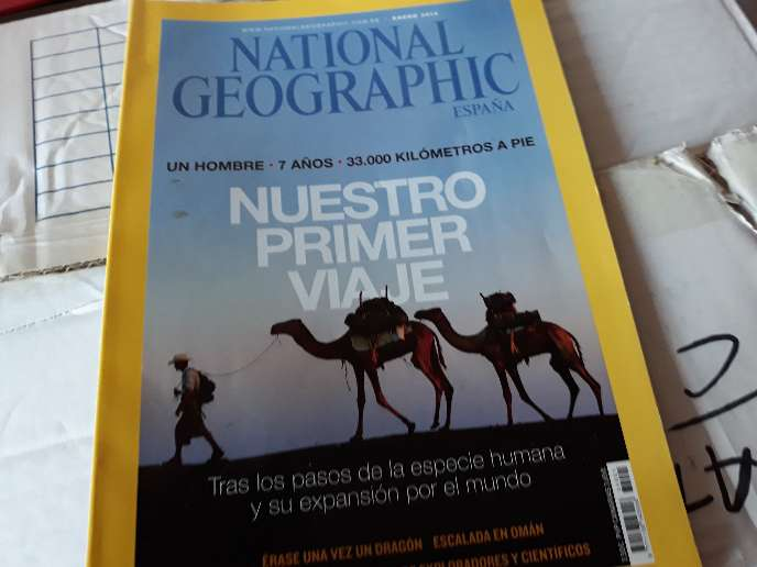 REGALO revistas Muy Interesante y National Geographic