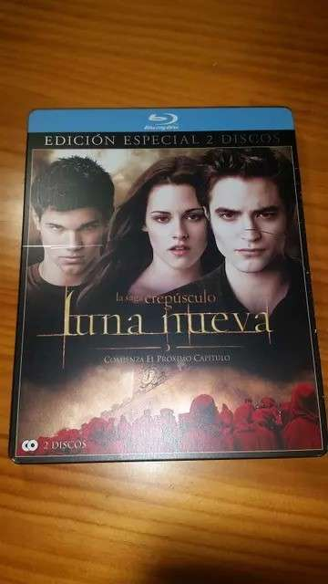 REGALO Blue Ray Luna nueva
