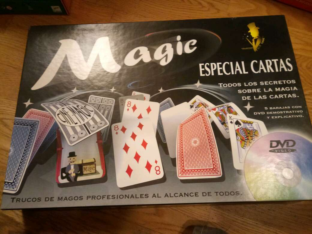 REGALO magic especial cartas