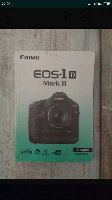 REGALO Libro EOS-1 Mark lll