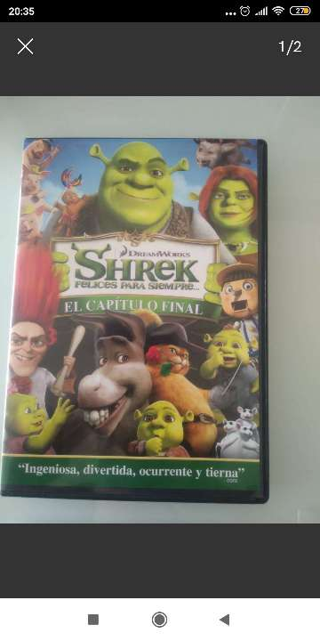 REGALO DVD Shrek