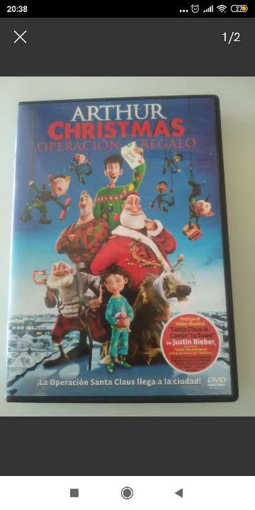 REGALO DVD Arthur Christmas