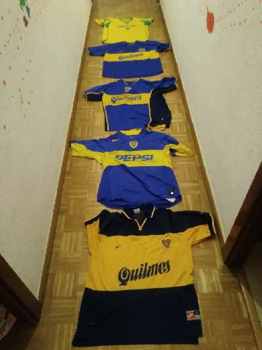 REGALO Camisetas Boca Junior y Brasil