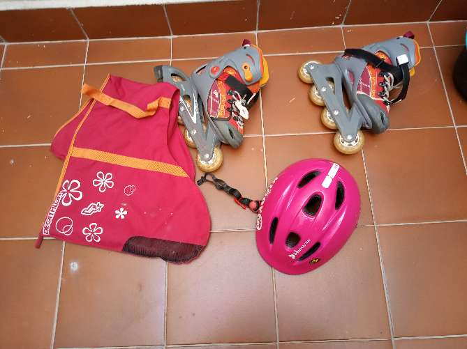 REGALO patines niña
