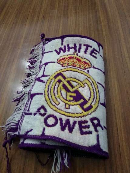 REGALO Estandarte de fan del Real Madrid