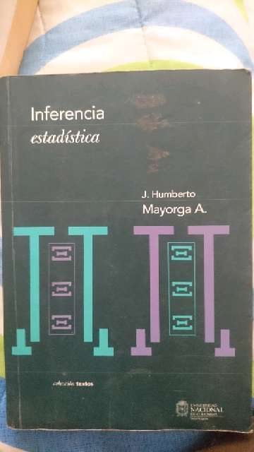 REGALO Libro Inferencia estadística Mayorga 1