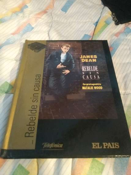 REGALO pelicula y librito James Dean 1