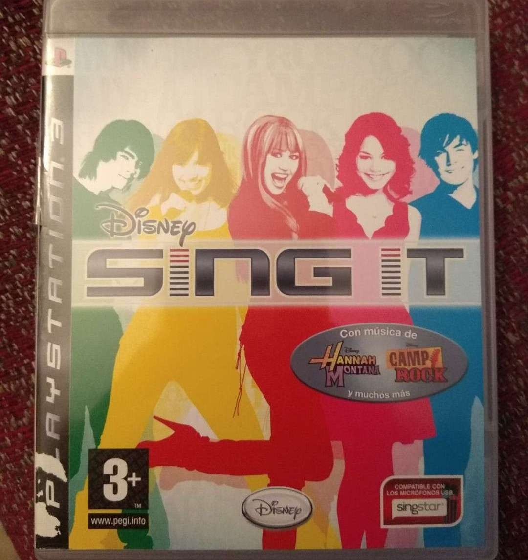 REGALO Juego PS3 SING IT y SING IT POP HITS