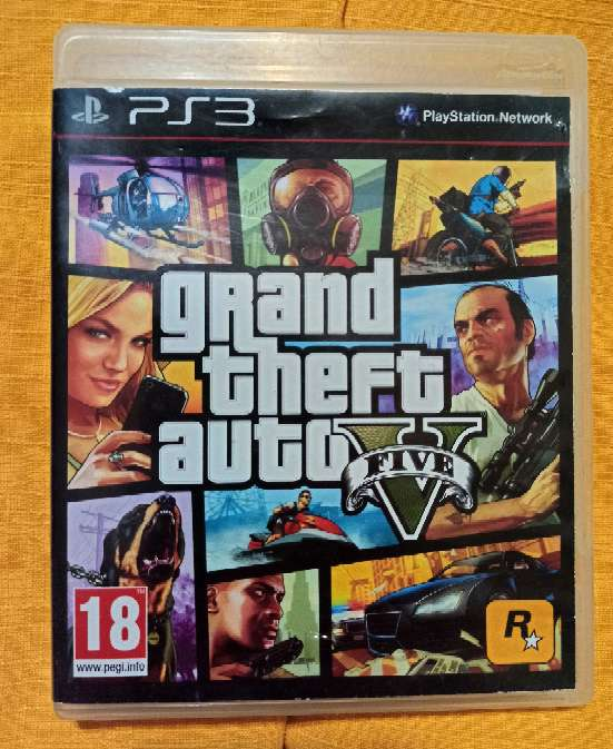 REGALO Gta V (ps3)
