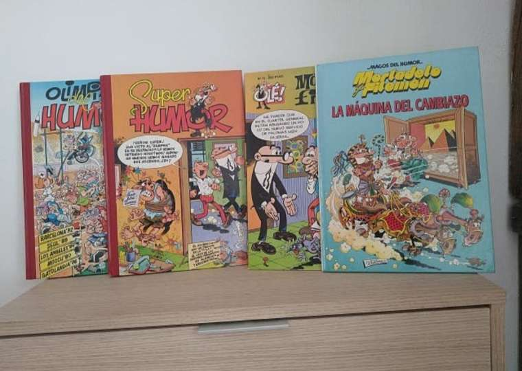REGALO cómics de Mortadelo y Filemón