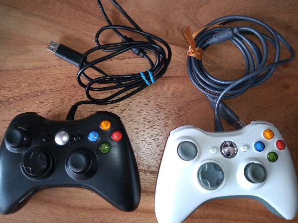 REGALO 2 Joysticks para pc simil x-box