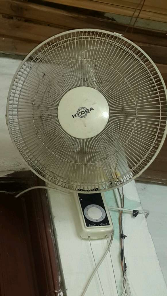 REGALO ventilador de pared