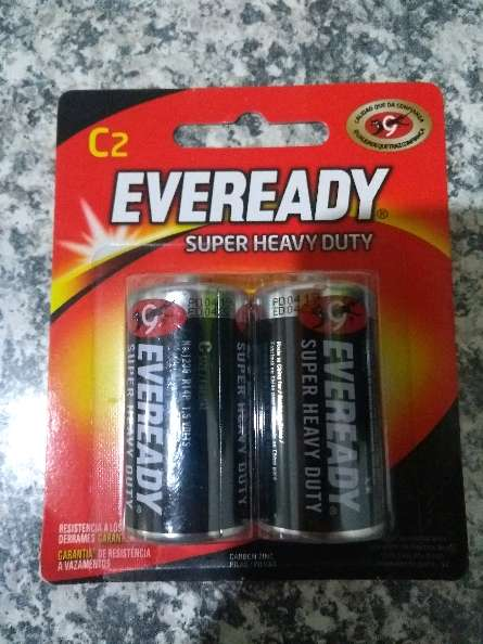 REGALO batería eveready