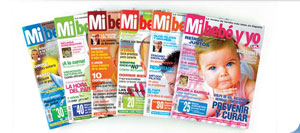 REGALO revistas de'' mi bebe y yo''  y 6 meses subscripcion