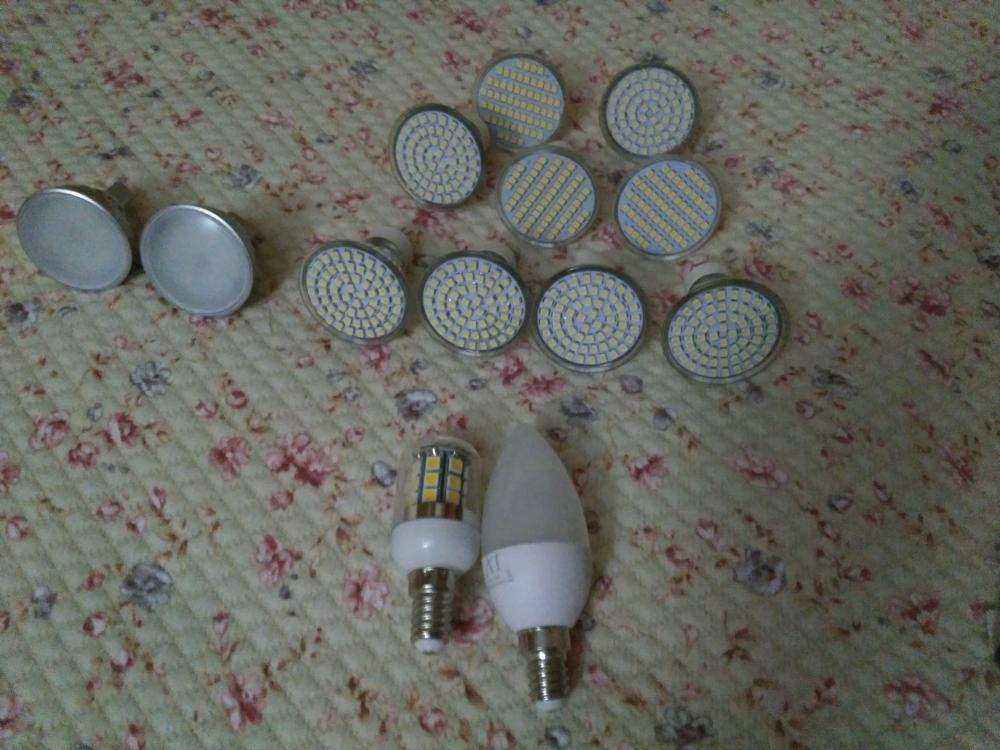 REGALO Bombillas LED Pack